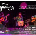 """AGUALUNA artistas de Santa Fe presentan """"Cantan las mujeres que cantan"""""""