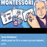 Espacio virtual de muestra. Montessori Education. An approach to learning.
