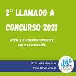 2° llamado a concurso 2021